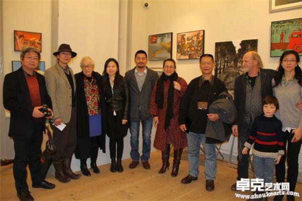 2015年与瑞典丹麦艺术家交流